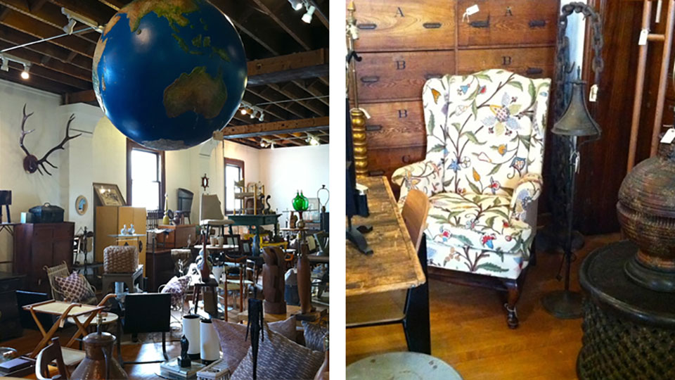 Vintage Furniture Shopping At Beall Bell The Journal